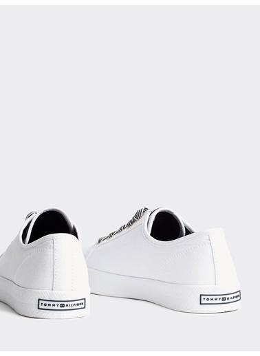 Tommy Hilfiger Kadın Essential Nautical Sne Sneakers FW0FW04848 Beyaz